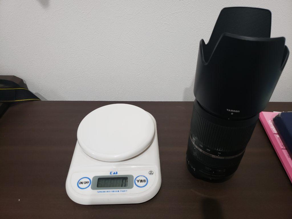 レンズ重量1