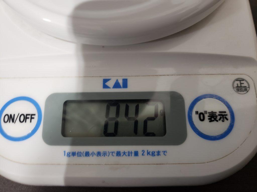 レンズ重量2