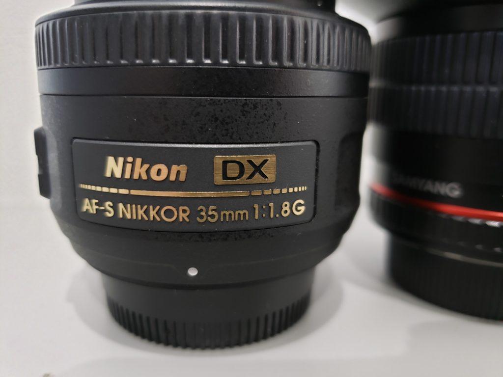 ニコンの35mm-1.8
